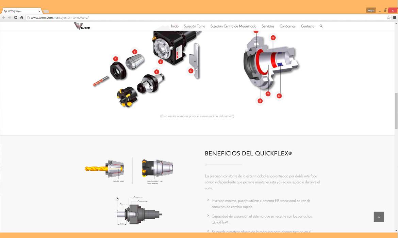 Parte de Quickflex